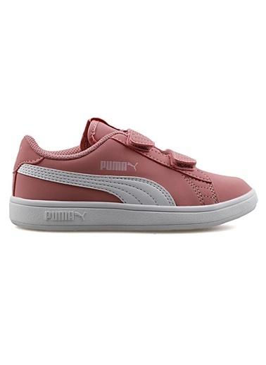Puma Çocuk Ayakkabı Smash V2 Buck 36518321 Pembe